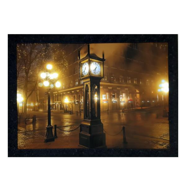 تابلو نوری طرح ساعت کد sh-227