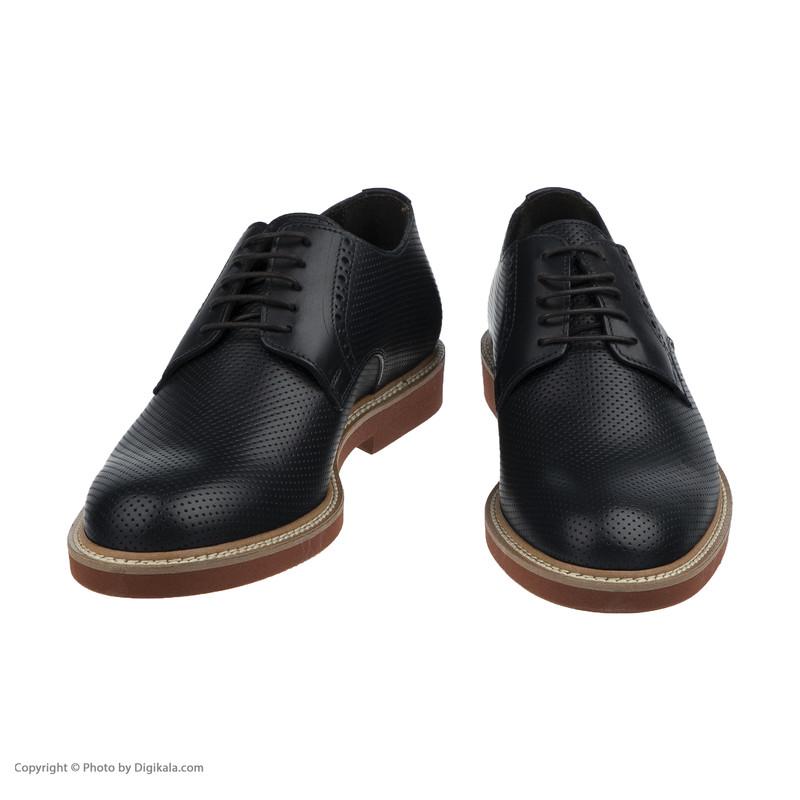 کفش روزمره مردانه جاس مدل 220-Vitello BLU Forato