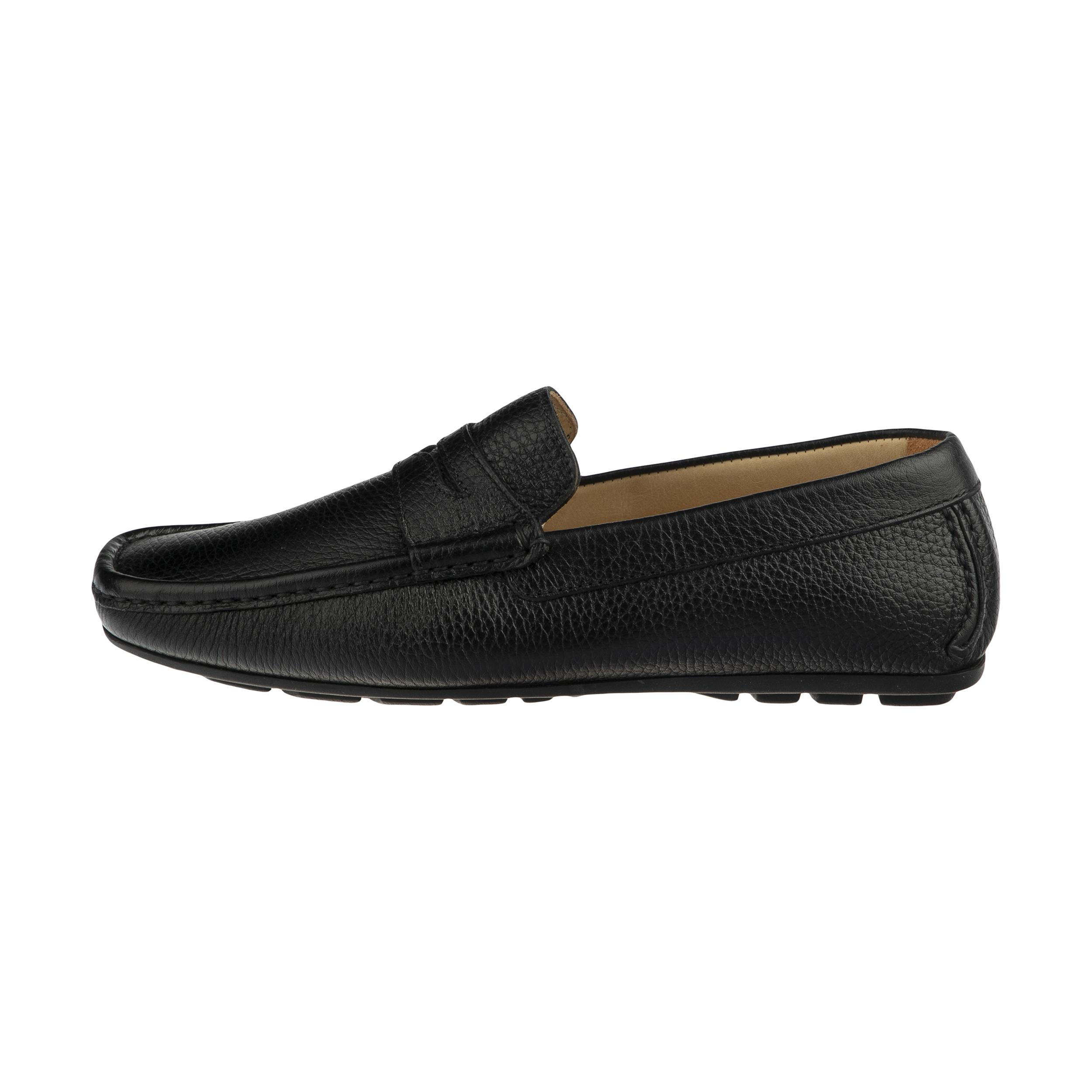 کفش روزمره مردانه جاس مدل 25101-Vit Stampato Nero