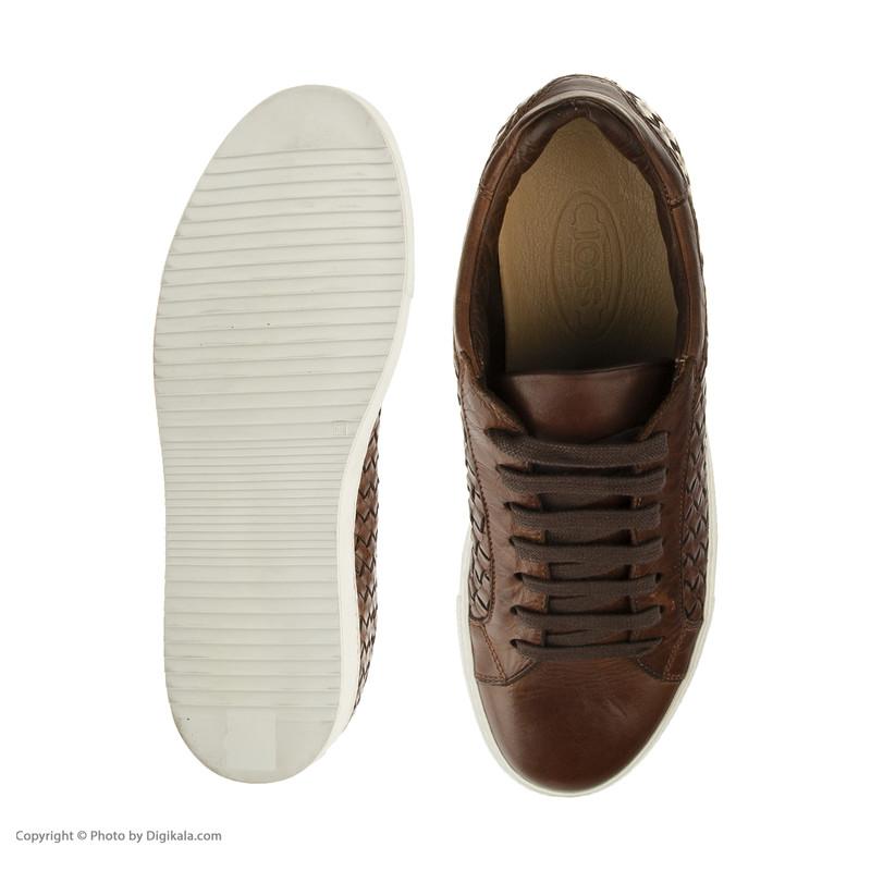 کفش روزمره مردانه جاس مدل 370-Tuffato Cognac
