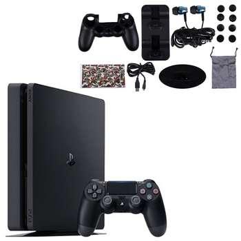 تصویر کنسول بازی سونی مدل Playstation 4 Slim کد Region 1 CUH-2215B ظرفیت 1 ترابایت + FIFA 2020 Sony Playstation 4 Slim Region 2 CUH-2215B 1TB Game Console + FIFA 2020