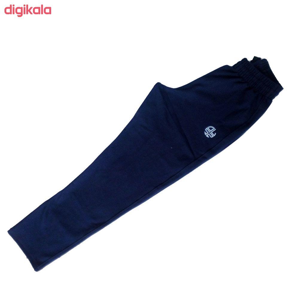 ست گرمکن و شلوار ورزشی زنانه ساراچی کد 405 رنگ سرمه ای main 1 2