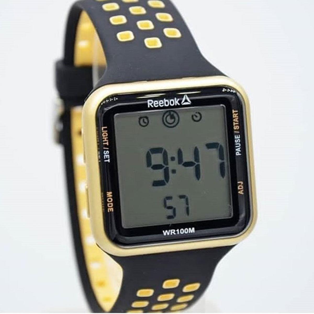کد تخفیف                                      ساعت مچی دیجیتال مردانه ریباک مدل RD-SQE-G9-P2IB-W2