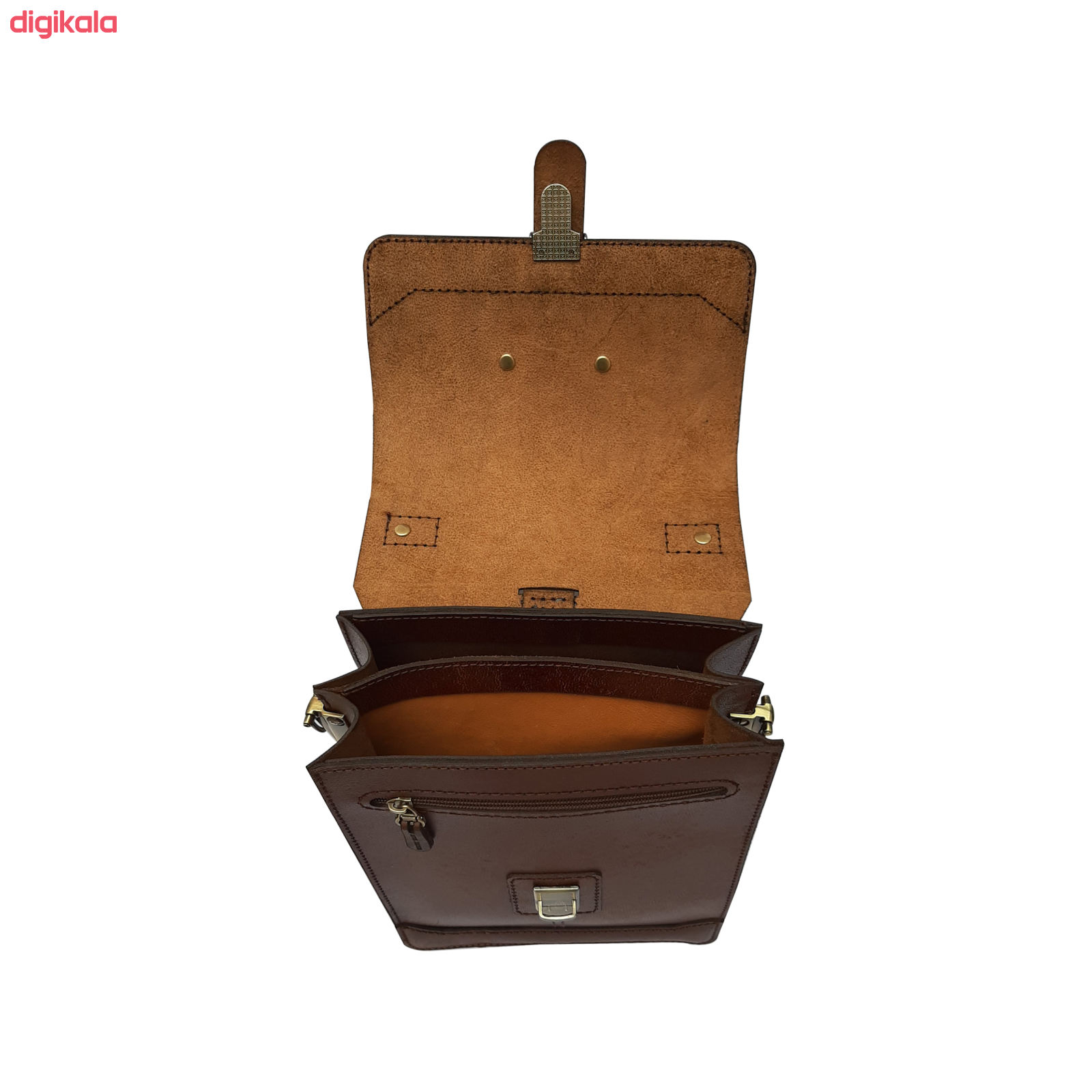 کیف دوشی مردانه چرم روژه مدل ES01A main 1 5