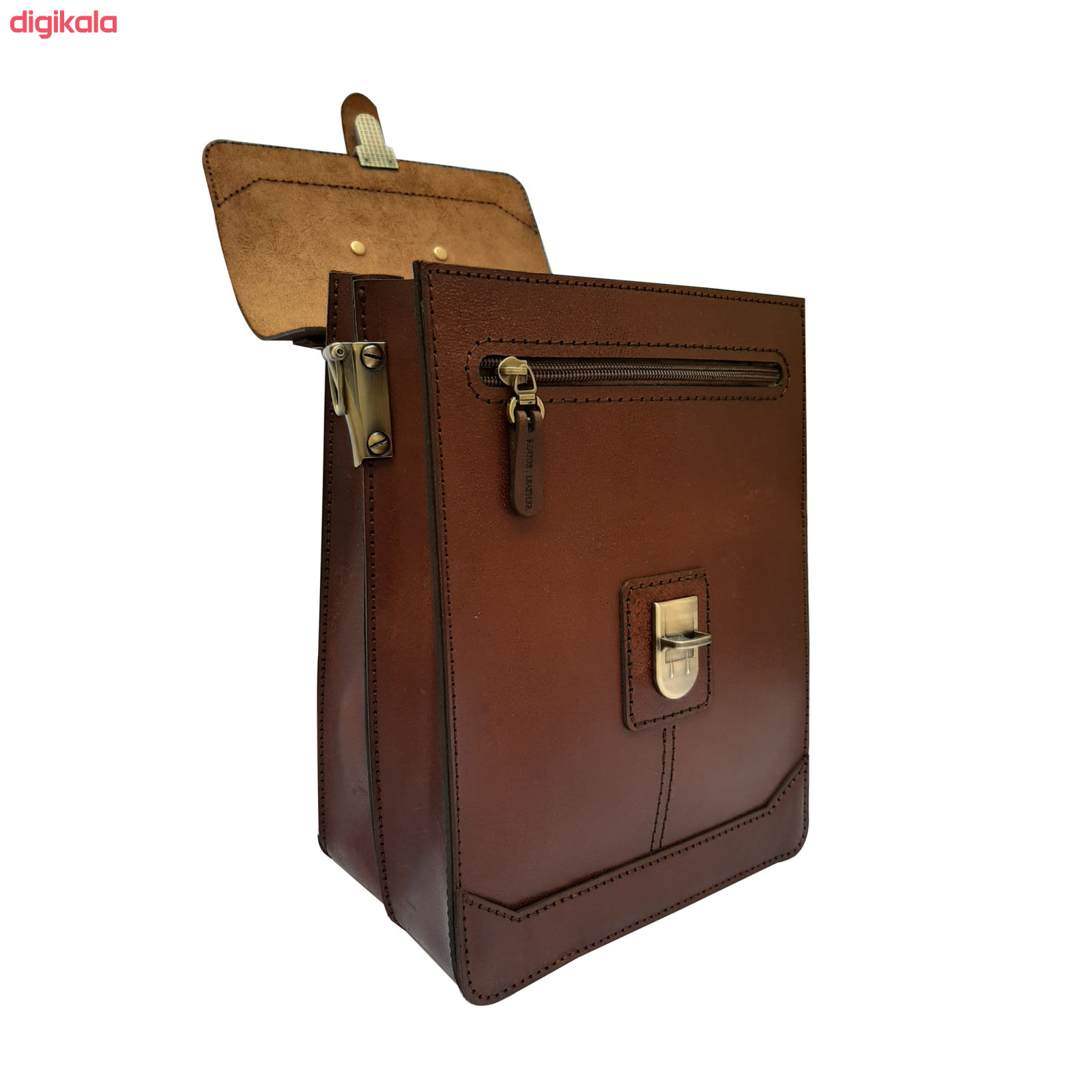 کیف دوشی مردانه چرم روژه مدل ES01A main 1 6
