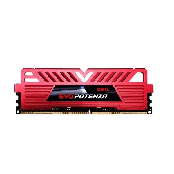 رم دسکتاپ DDR4 تک کاناله 3000 مگاهرتز CL16 گیل مدل Potenza ظرفیت 16 گیگابایت