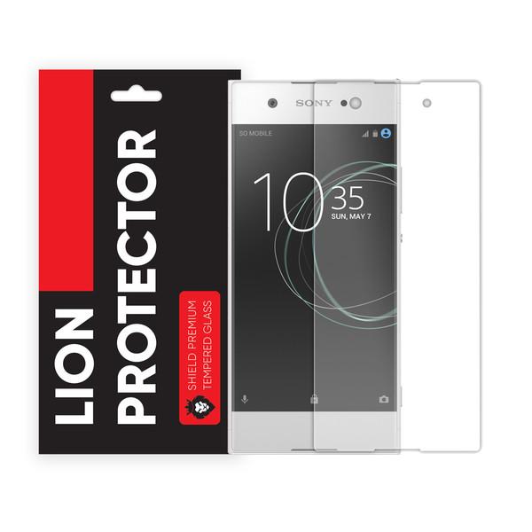 محافظ صفحه نمایش شیلد مدل Lion GLS مناسب برای گوشی موبایل سونی Xperia XA1 Ultra