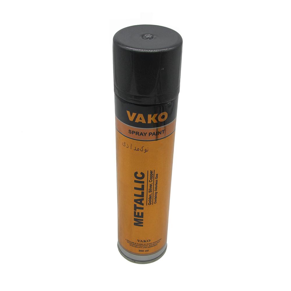 اسپری رنگ نوک مدادی واکو کد 01 حجم 300 میلی لیتر              ( قیمت عمده )