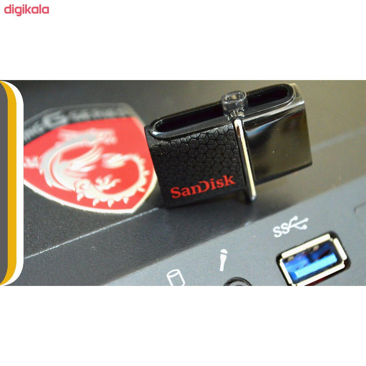 فلش مموری سن دیسک مدل Ultra Dual USB Drive 3.0 ظرفیت 32 گیگابایت main 1 1