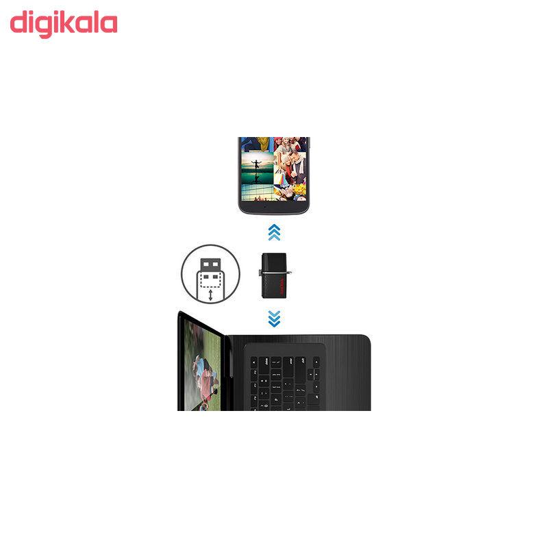 فلش مموری سن دیسک مدل Ultra Dual USB Drive 3.0 ظرفیت 32 گیگابایت main 1 2