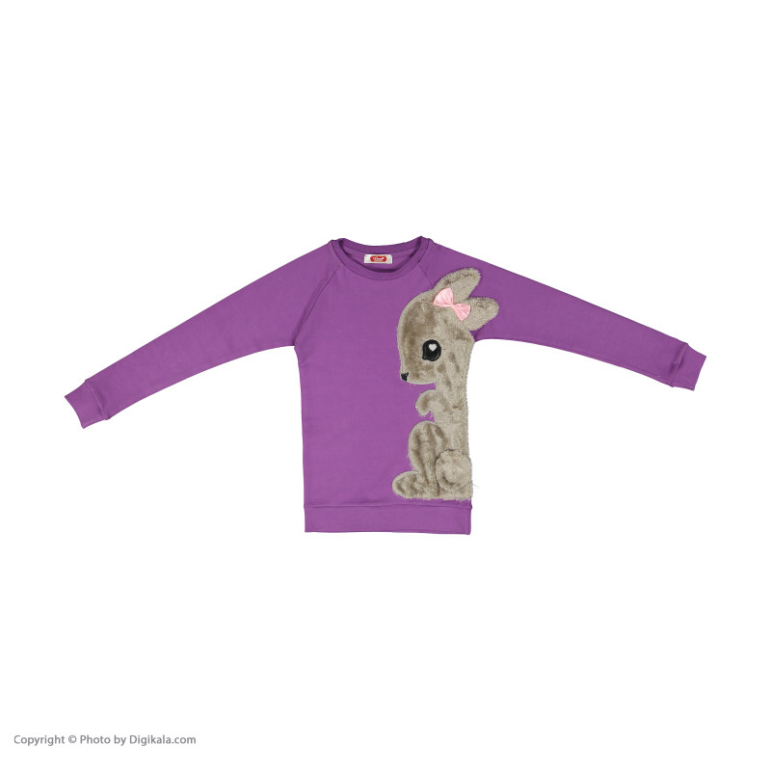 ست تی شرت و شلوار دخترانه مادر مدل SherryViolet-64
