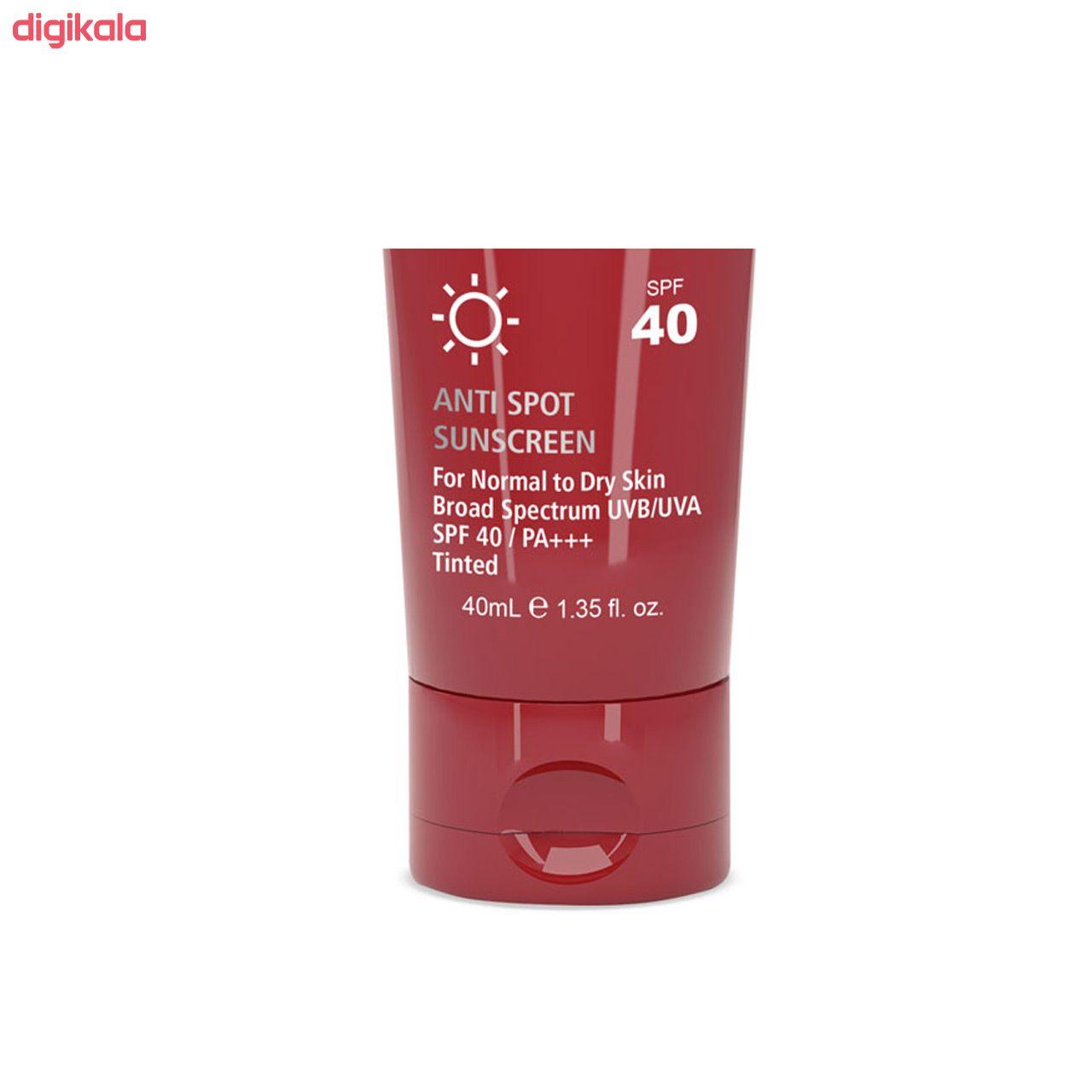 کرم ضد آفتاب و ضد لک رنگی لافارر مدل Normal To Dry Medium حجم 40 میلی لیتر main 1 2