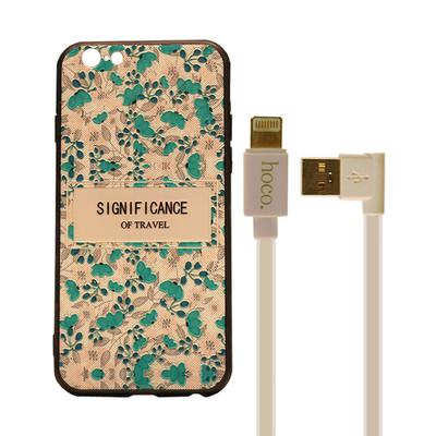 مجموعه لوازم جانبی موبایل مدل hco/g مناسب برای گوشی موبایل اپل Iphone 6/6s