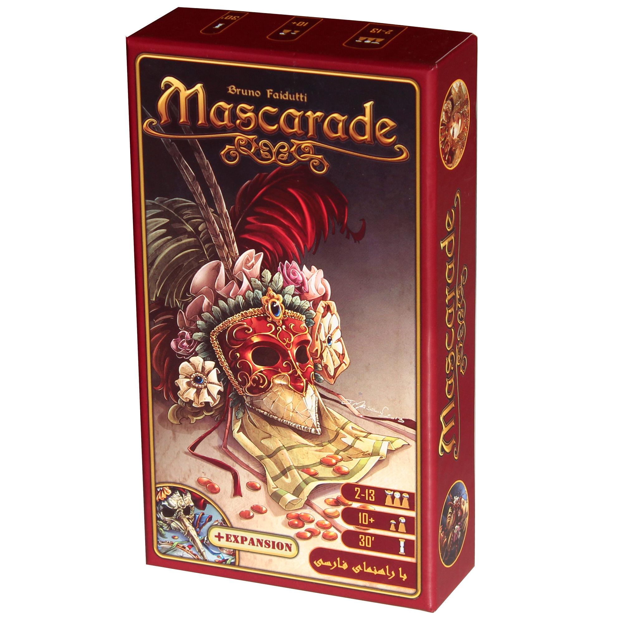 بازی فکری مدل Mascarade