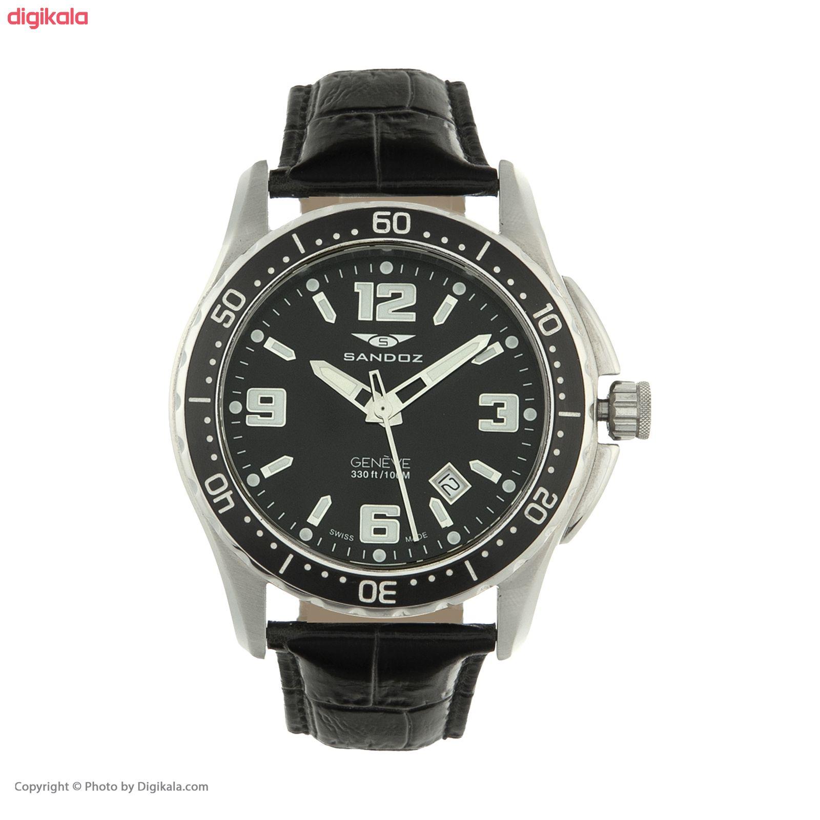 ساعت مچی عقربه ای مردانه ساندوز مدل 81331-55