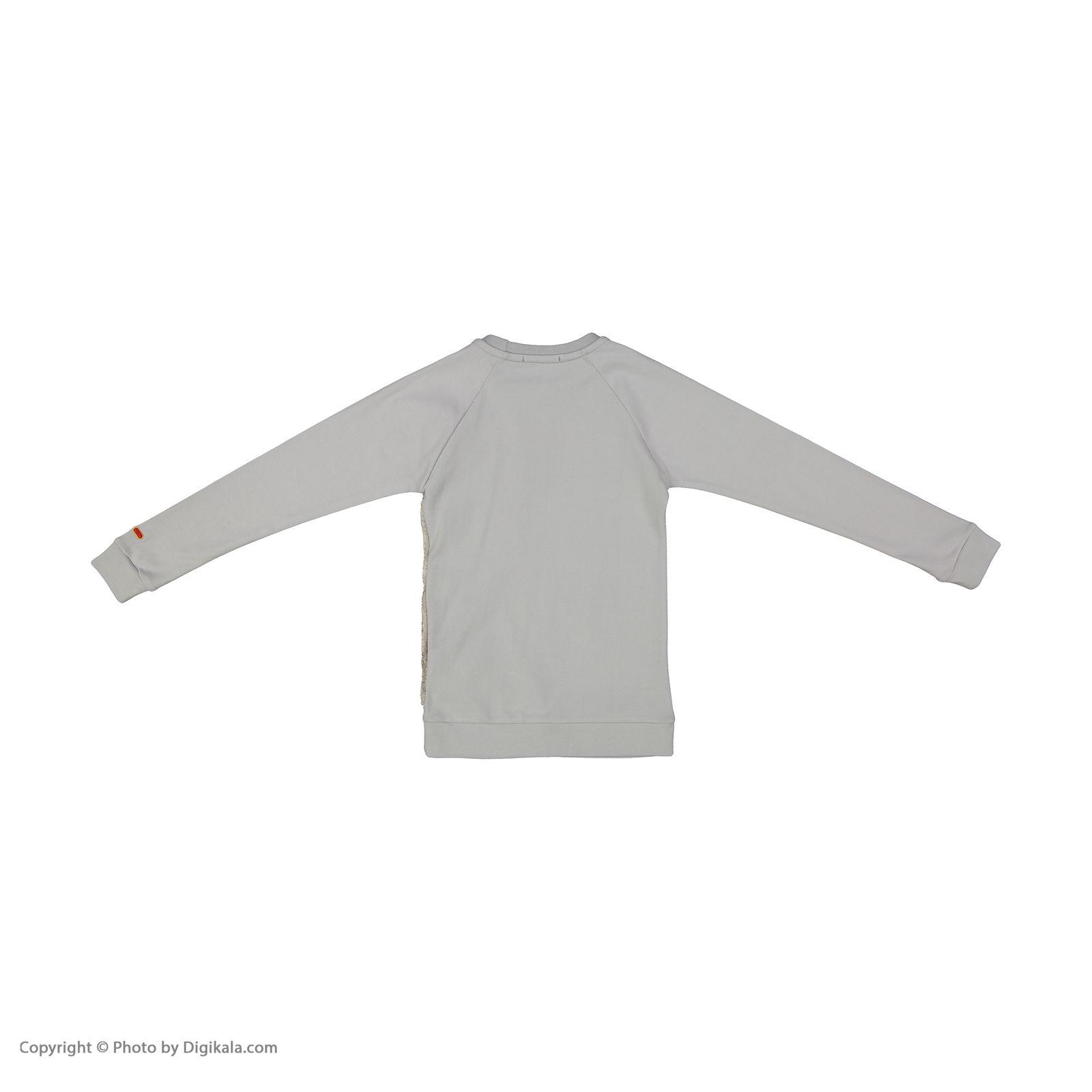 ست تی شرت و شلوار دخترانه مادر مدل SherryGray-93 main 1 3