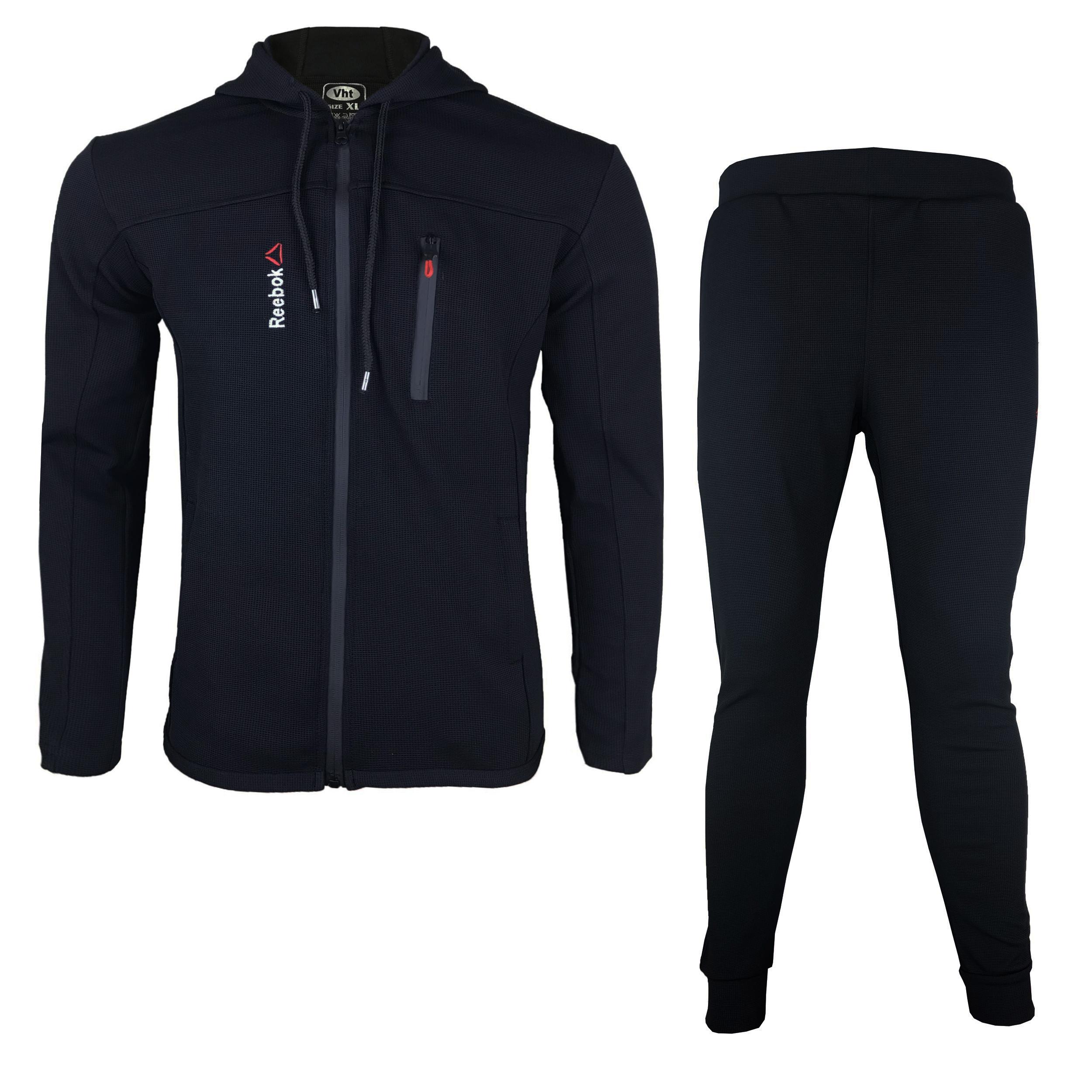 ست گرمکن و شلوار ورزشی مردانه مدل R-BL01                     غیر اصل