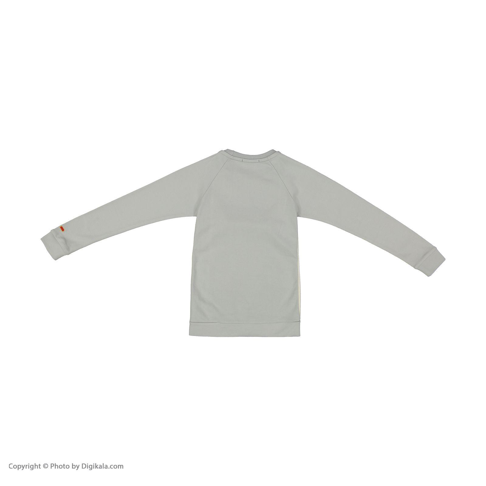 ست تی شرت و شلوار دخترانه مادر مدل VitaraGray-93 main 1 3