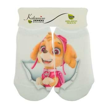 جوراب نوزاد کاتامینو طرح سگ خلبان