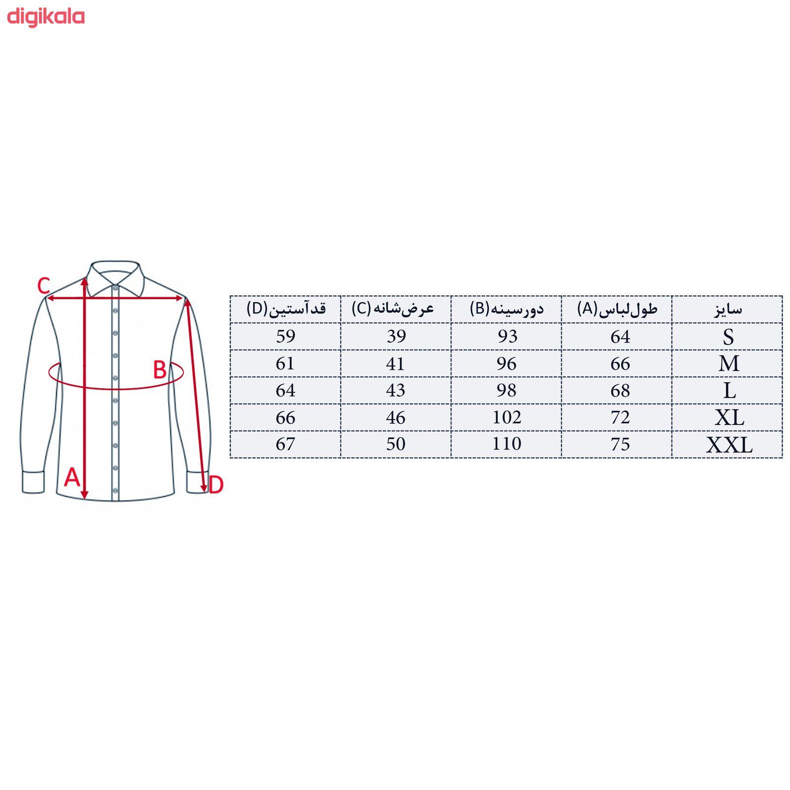 پیراهن مردانه کد M02273 main 1 4