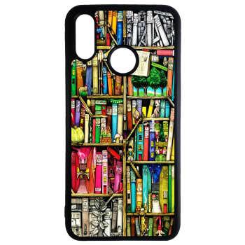 کاور طرح کتابخانه کد 11050646 مناسب برای گوشی موبایل هوآوی p30 lite