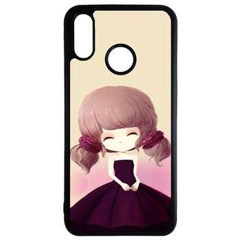 کاور طرح دختر کد 11050646 مناسب برای گوشی موبایل هوآوی p30 lite