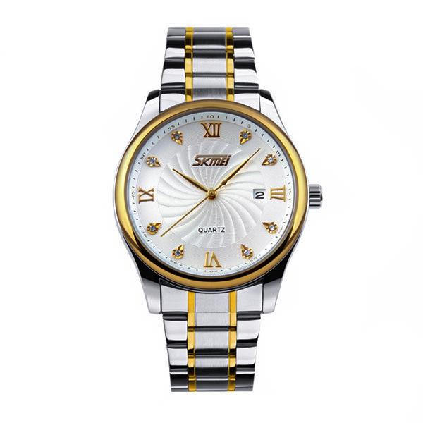 کد تخفیف                                      ساعت مچی عقربه ای مردانه اسکمی مدل 9101W