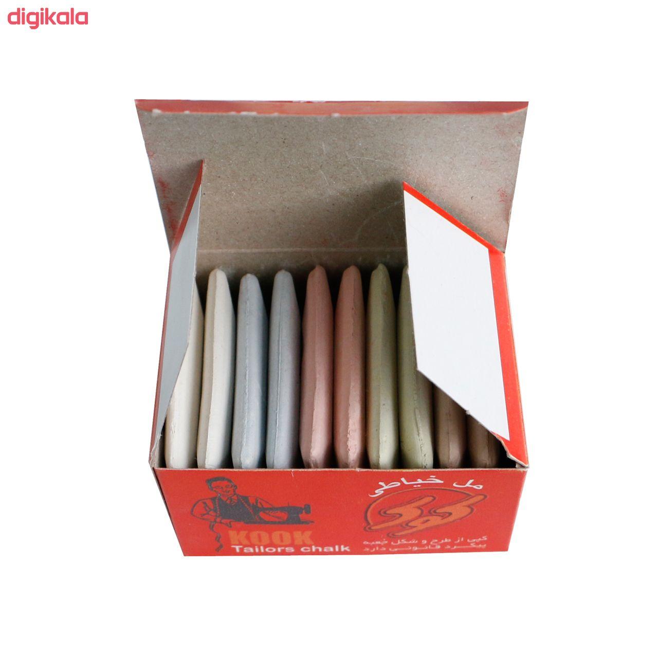 صابون خیاطی کوک مدل SCH10 بسته 10 عددی  main 1 2