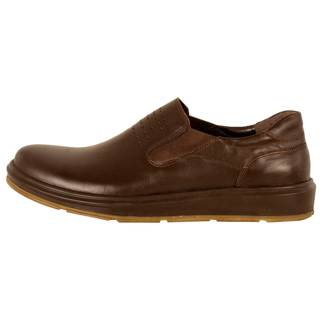 کفش روزمره مردانه پارینه چرم مدل SHO198