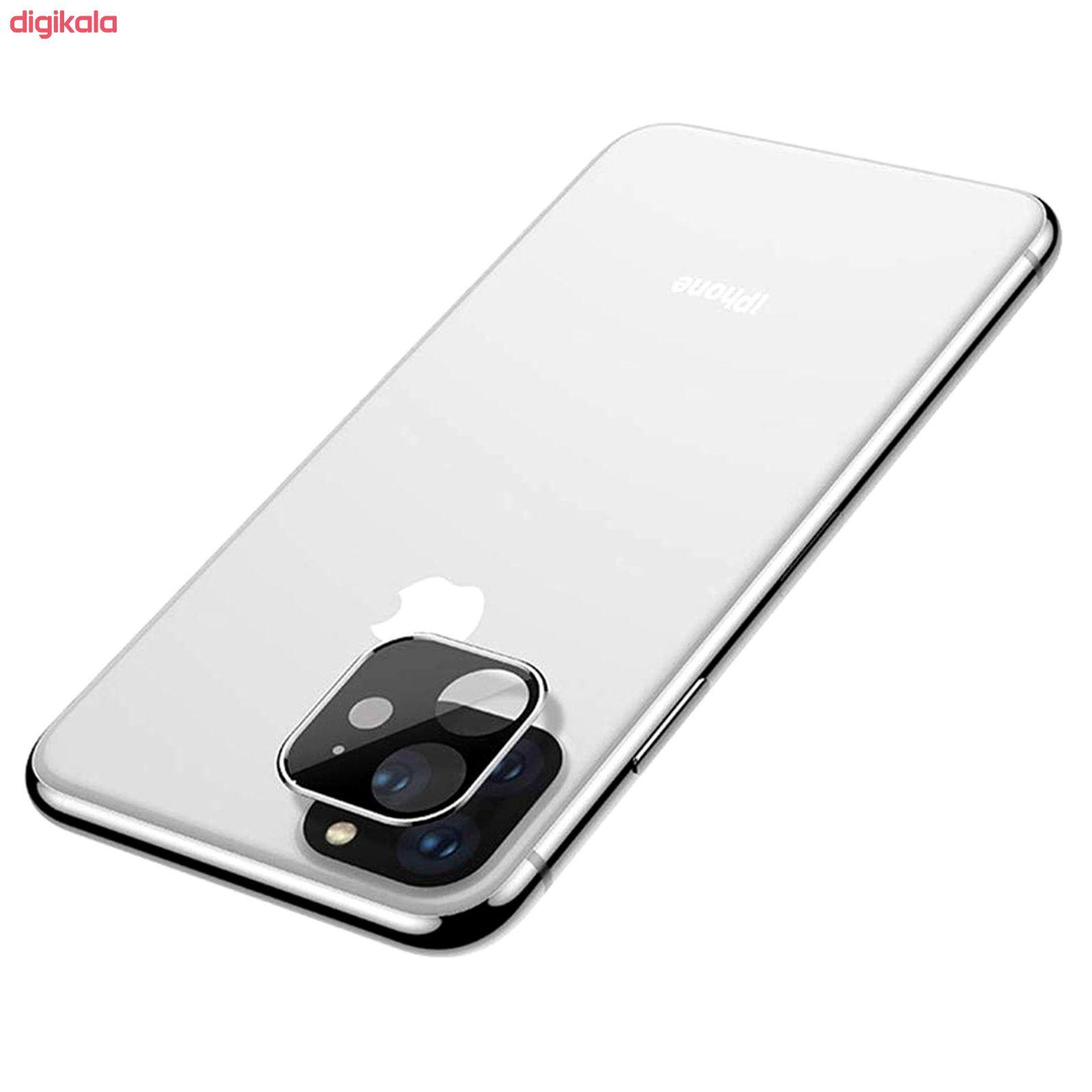 محافظ لنز دوربین راک مدل 3DSLP مناسب برای گوشی موبایل اپل iPhone 11 بسته دو عددی main 1 3