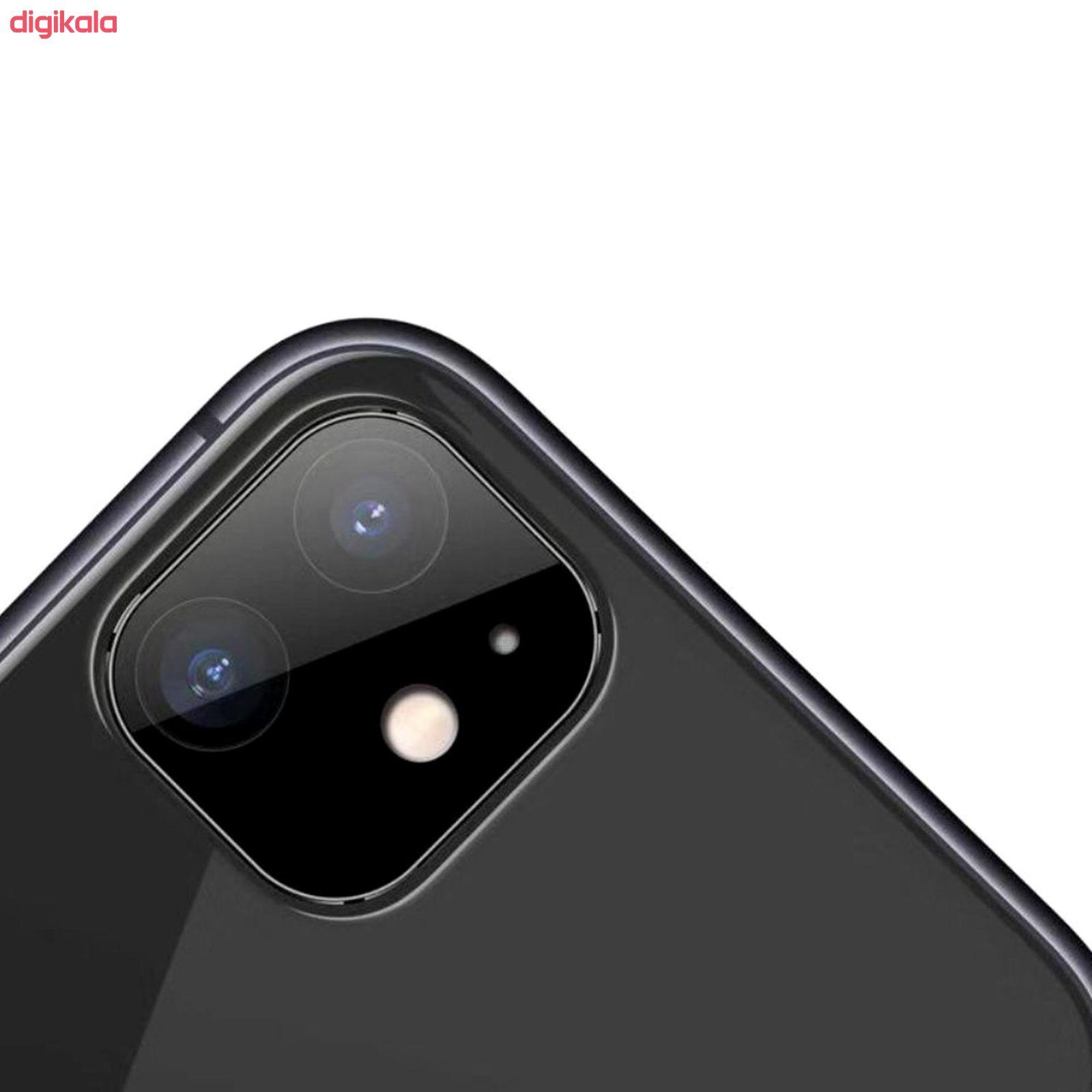 محافظ لنز دوربین راک مدل 3DSLP مناسب برای گوشی موبایل اپل iPhone 11 بسته دو عددی main 1 4