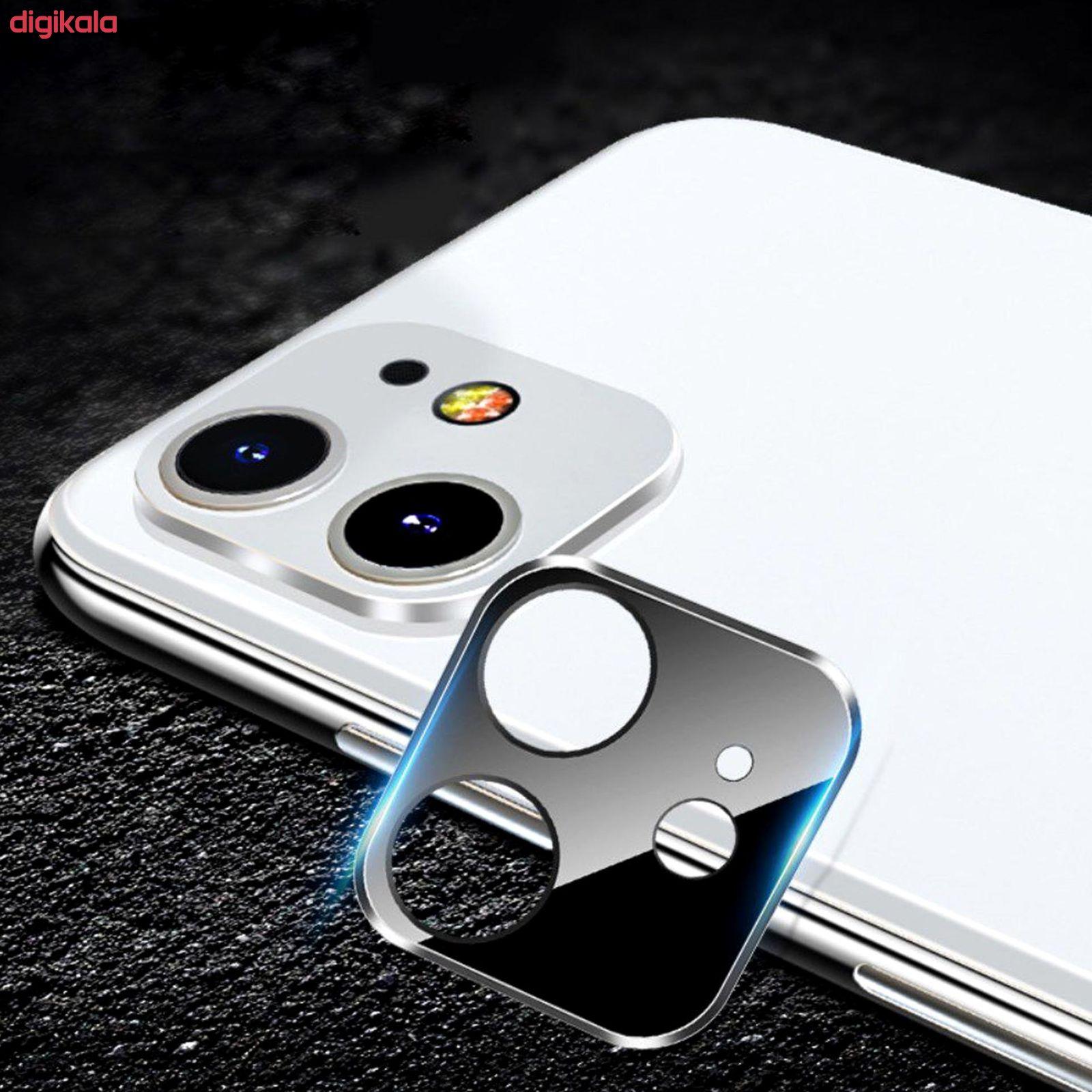 محافظ لنز دوربین راک مدل 3DSLP مناسب برای گوشی موبایل اپل iPhone 11 بسته دو عددی main 1 5