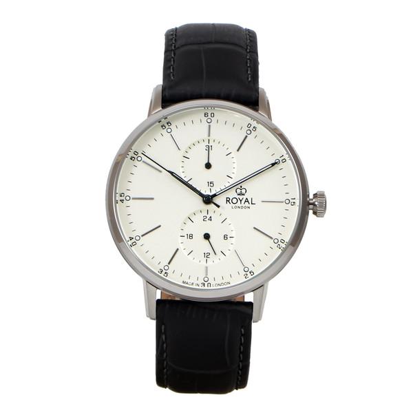 ساعت مچی عقربه ای مردانه رویال لندن مدل RL-41455-01