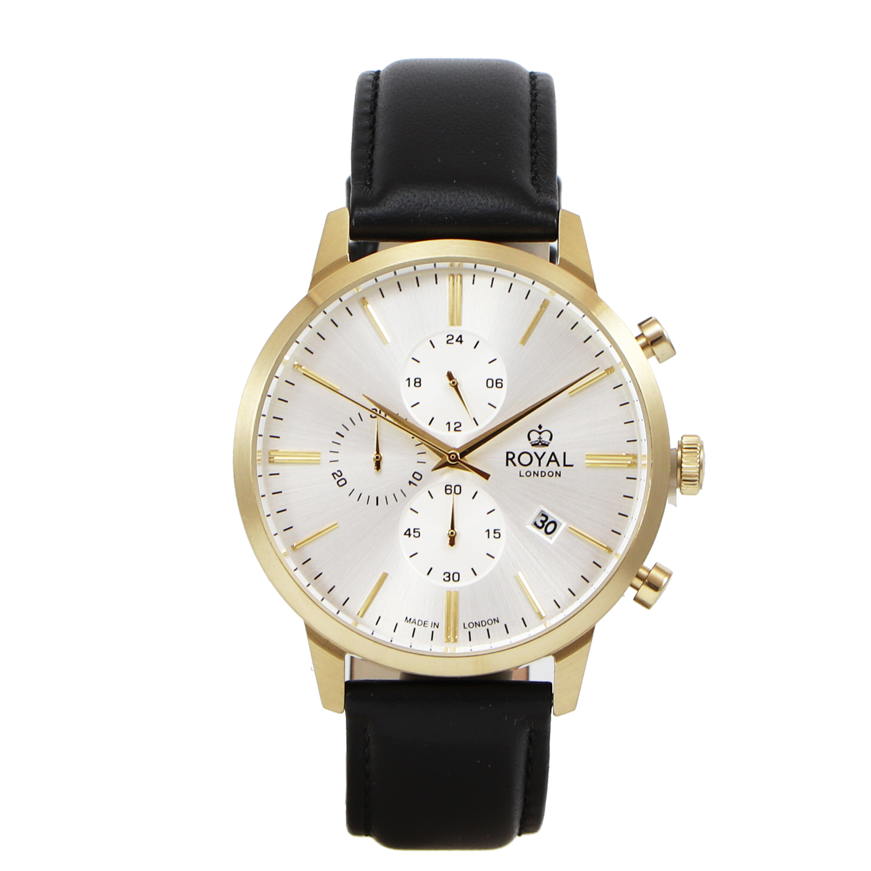 کد تخفیف                                      ساعت مچی عقربه ای مردانه رویال لندن مدل RL-41458-04