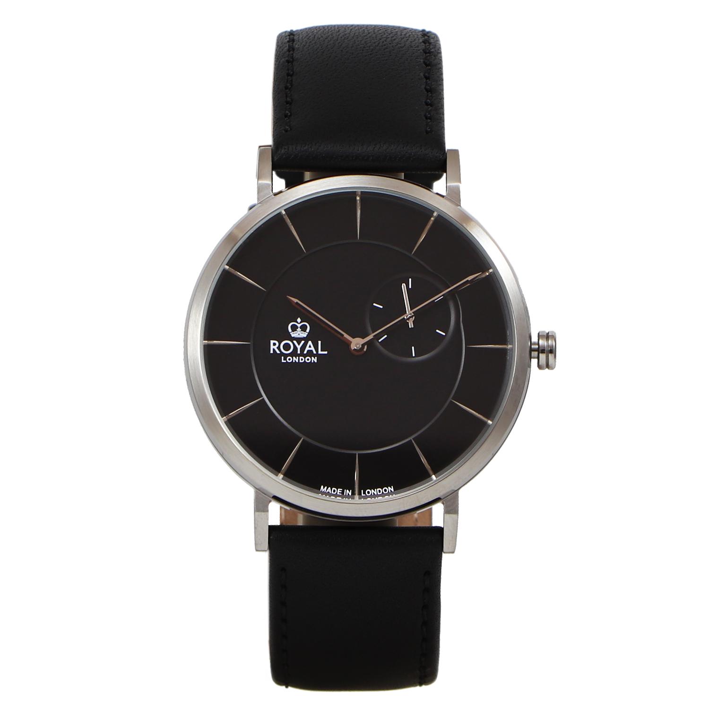 کد تخفیف                                      ساعت مچی عقربه ای مردانه رویال لندن مدل RL-41460-01