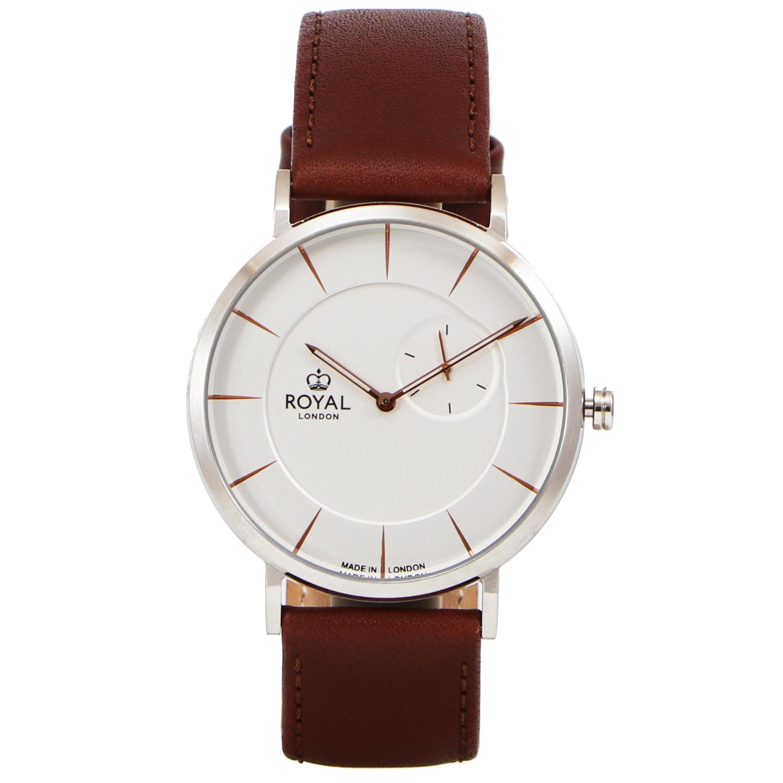 کد تخفیف                                      ساعت مچی عقربه ای مردانه رویال لندن مدل RL-41460-02