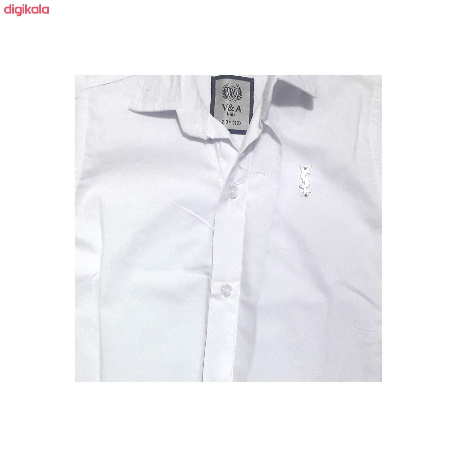 پیراهن پسرانه مدل 32081