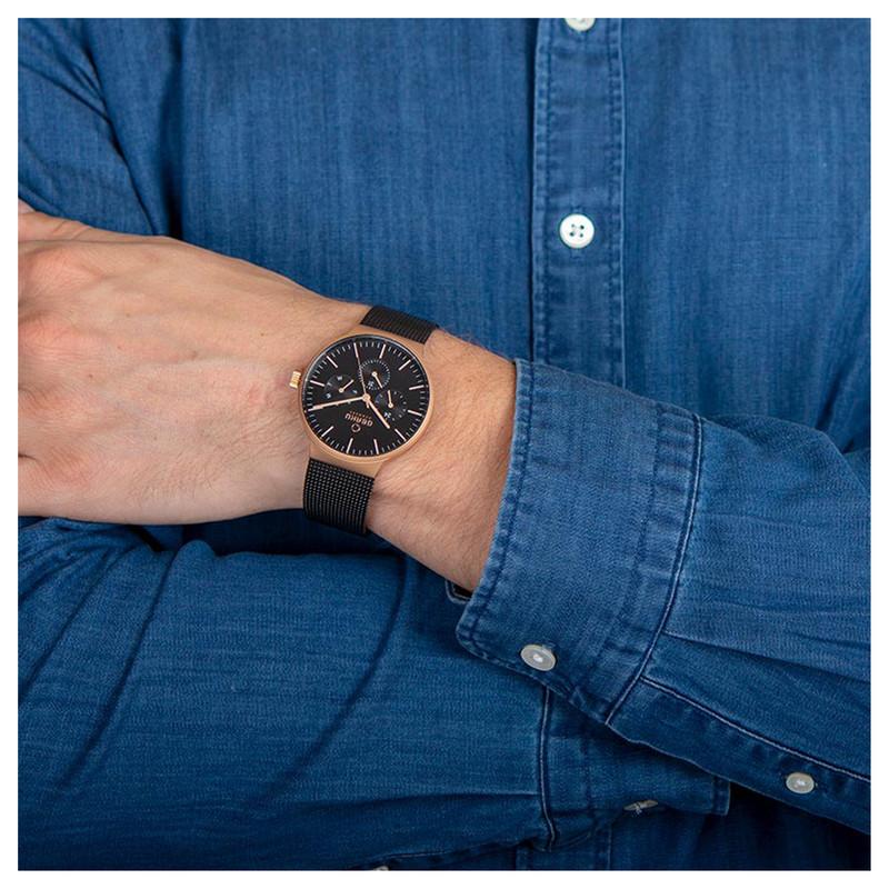 ساعت مچی عقربه ای مردانه اباکو مدل V229GMVBMB
