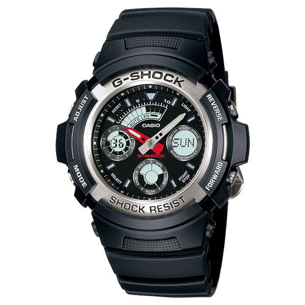 ساعت مچی عقربه ای مردانه کاسیو مدل جی شاک کد AW-590-1A