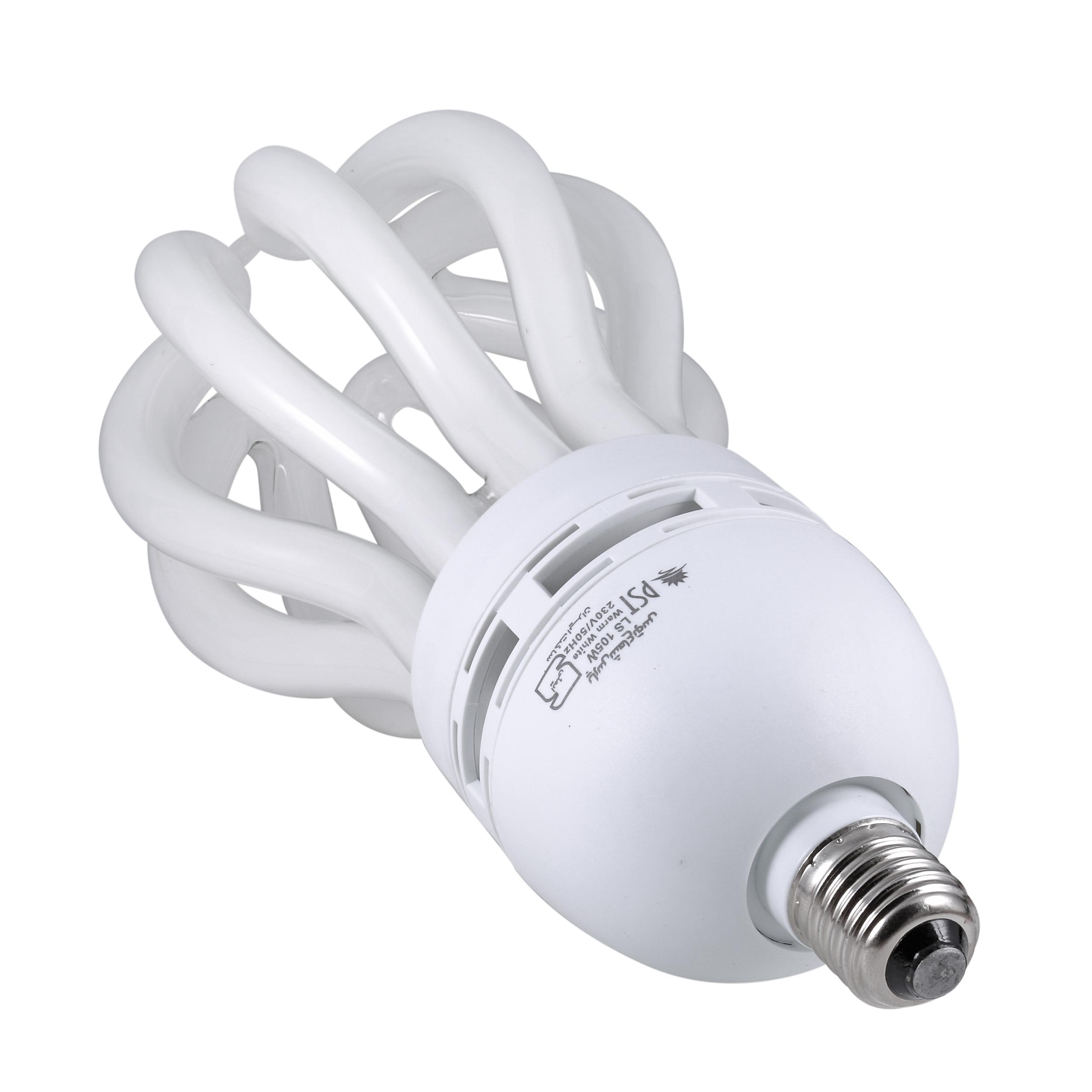 لامپ کم مصرف 105 وات پارس شعاع توس مدل PT-LOTUS105 پایه E27