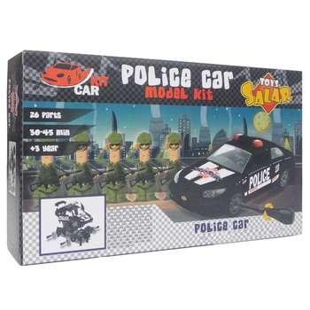 ساختنی کار کیت سالار تویز مدل Police-10104