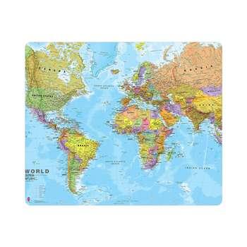 ماوس پد طرح نقشه جهان مدل MP1275