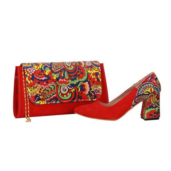 ست کیف و کفش زنانه کد 210