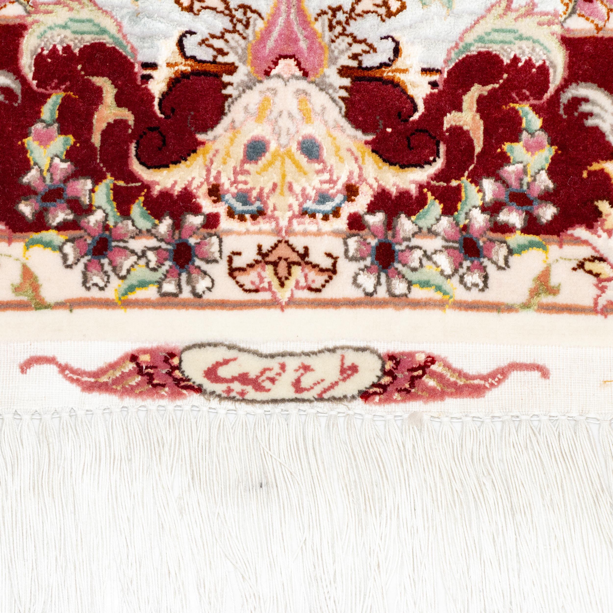 فرش دستباف یک و نیم متری طرح علیا کد 1000