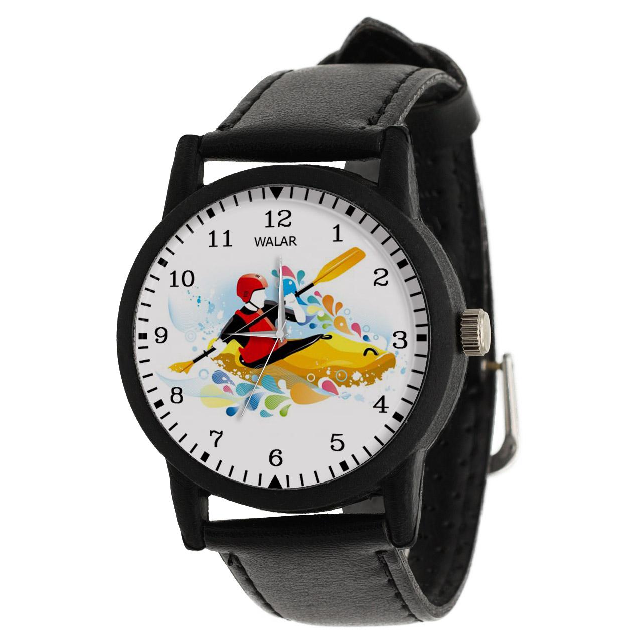 ساعت مچی عقربه ای والار طرح قایقرانی کد LF2000