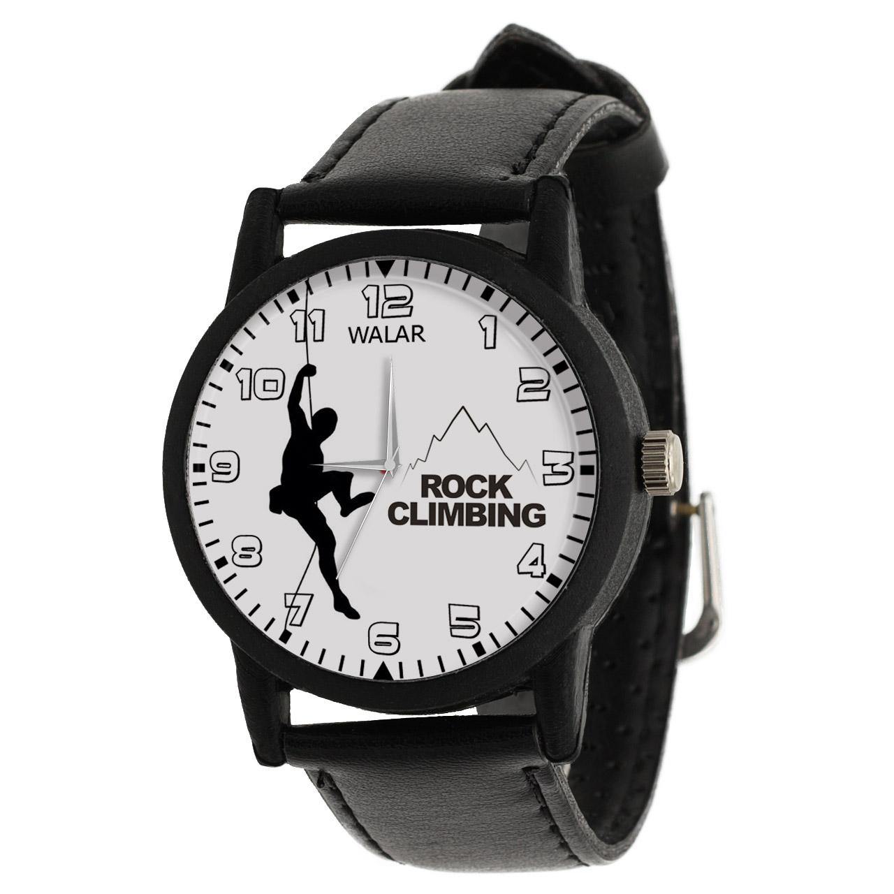 کد تخفیف                                      ساعت مچی عقربه ای مردانه والار طرح کوهنوردی کد LF2008