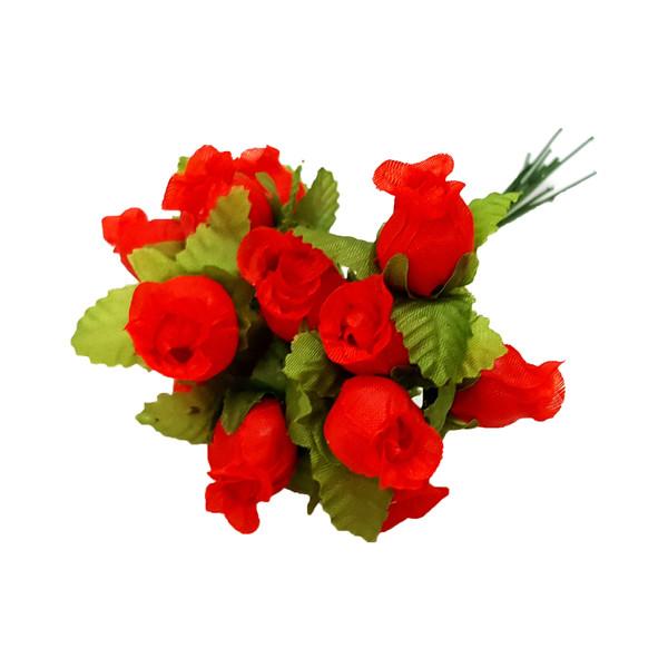 گل مصنوعی کد GAN101 بسته 12 عددی