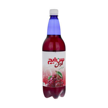 نوشیدنی گازدار سن ایچ کول آلبالو - 1 لیتر