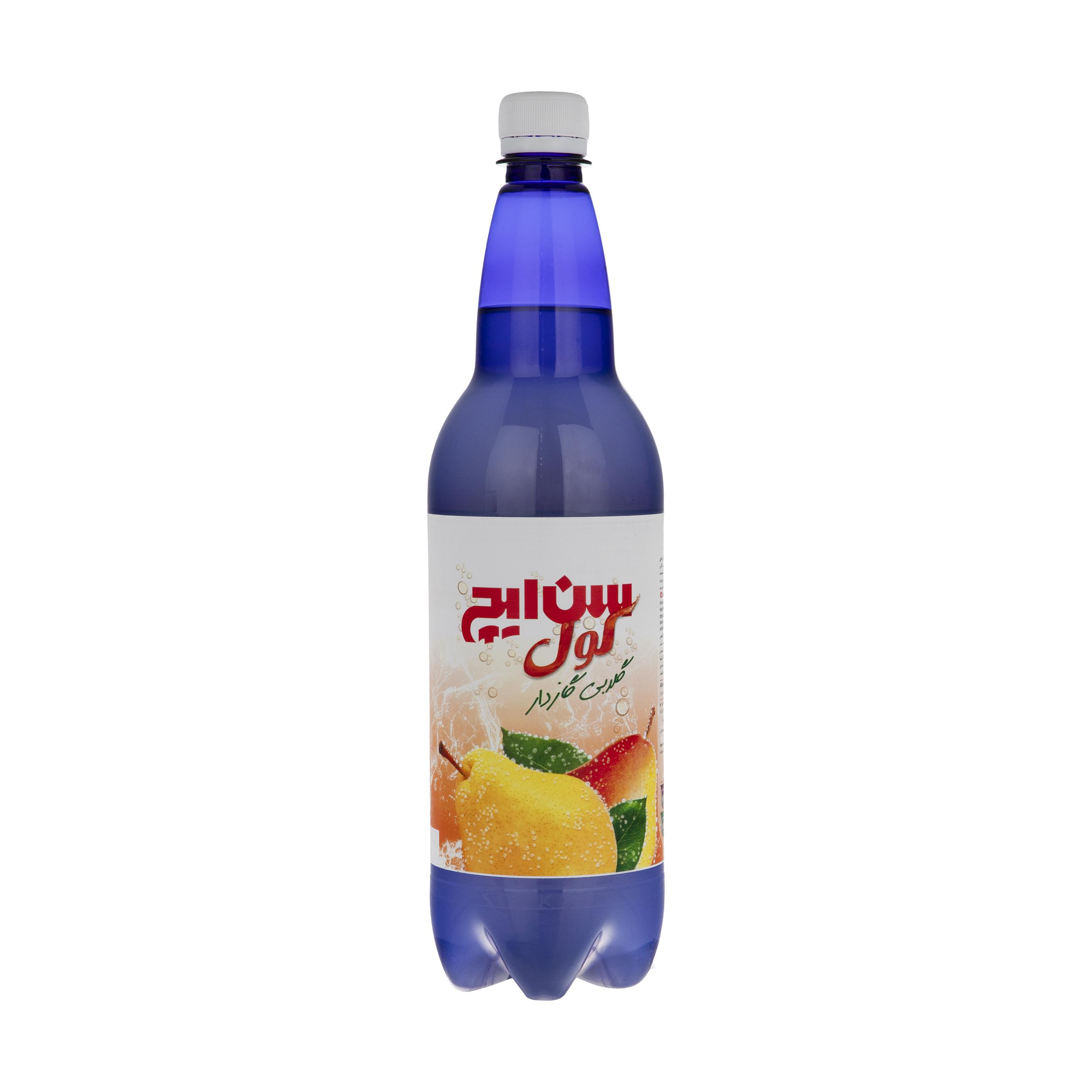 نوشیدنی گازدار گلابی سن ایچ کول - 1 لیتر