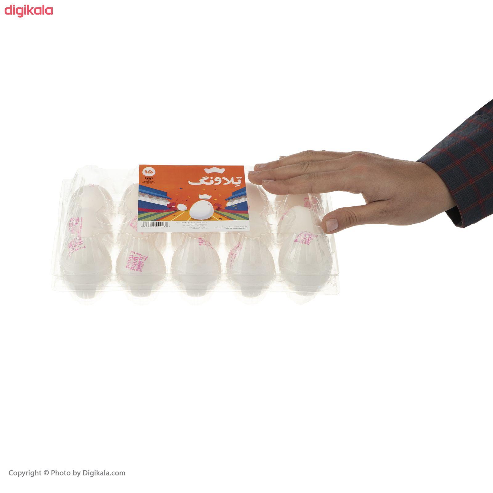 تخم مرغ تلاونگ بسته 15 عددی main 1 6